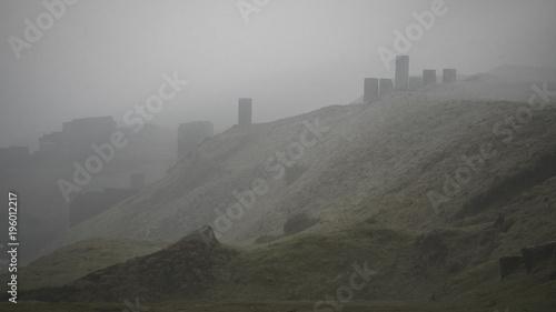 Keuken foto achterwand Bleke violet Rural shropshire hills landscape UK