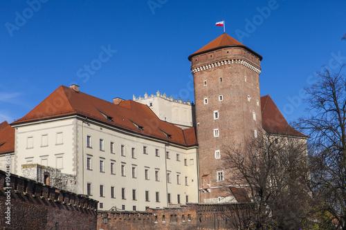 Papiers peints Cracovie Wawel Cracovia castle, Krakow, Poland