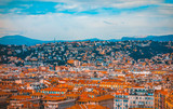 cityscape overview about nice, france - 196015201