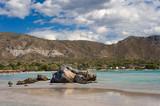 Am Strand von Elagonisi/Kreta