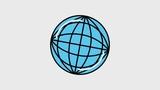 operator female worldwide customer support animation hd - 196042678