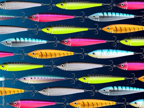 Fishing lures background hooks wallpaper 3