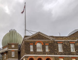 Part of building of the Royal Observatory in Greenwich, London - 196083851