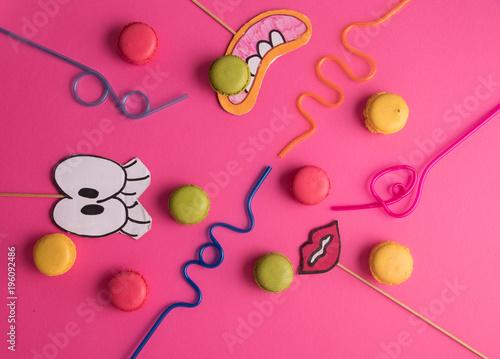 Plexiglas Macarons Party macarons