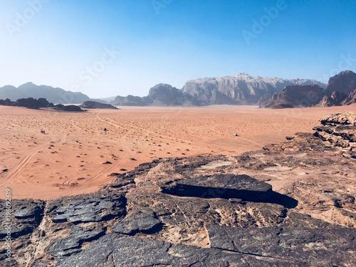Fotobehang Zalm Wadi Rum - desert