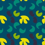 Kids abstract seamless pattern. Authentic design for digital and print media.