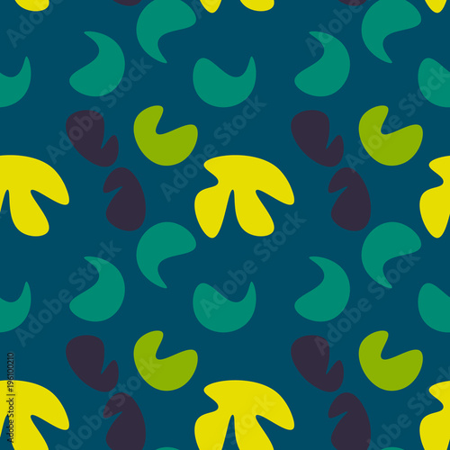 Fototapeta Kids abstract seamless pattern. Authentic design for digital and print media.