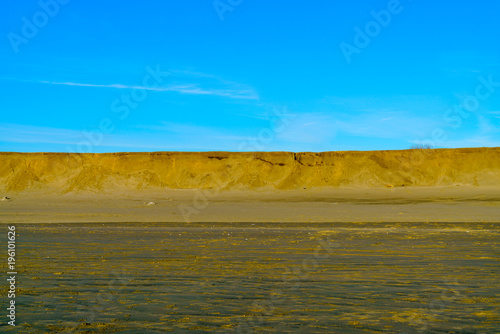 Foto op Canvas Blauw Small Sand Bluff