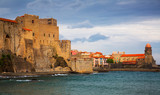 Medieval Royal castle in Collioure - 196103483