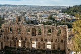 Athens - remains of ancient culture  - 196124267