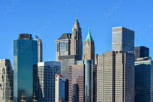 Tuinposter New York usa new york skyline buildings