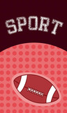Sport football ball