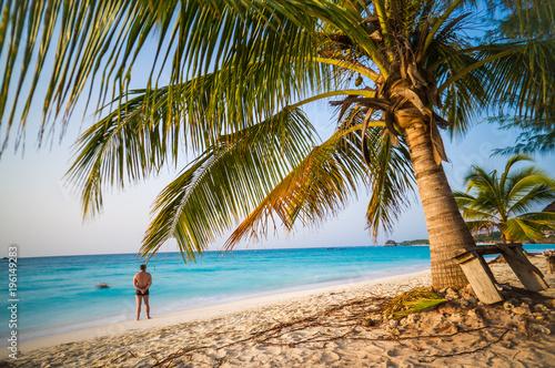 Foto op Canvas Tropical strand Paradise beach