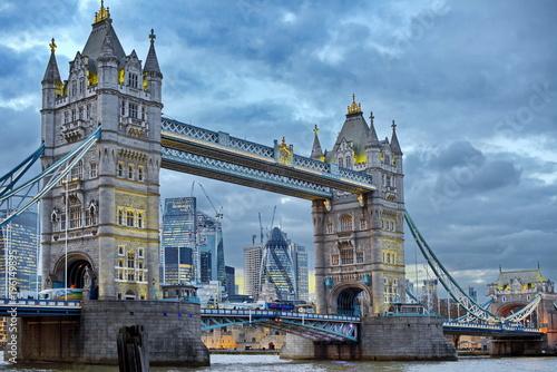 Deurstickers Londen london tower bridge