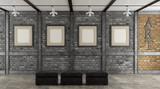 Art gallery in a loft - 196158026