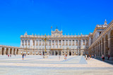 Royal Palace of Madrid ( Palacio Real de Madrid) is the official - 196162035
