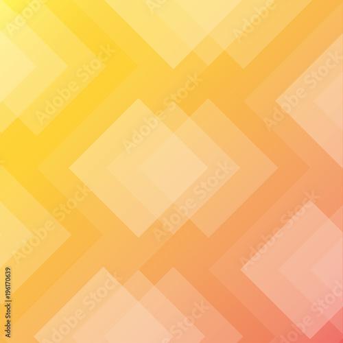 Fototapeta yellow orange rhombus background