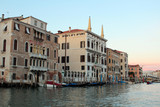 Venetian house architecture on the water