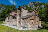 The historical stone church of Panagia at the Pyli village in Thessaly, Greece - 196198242