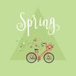Spring concept vector illustration.
