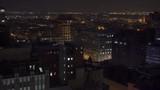 Night shot of Brooklyn New York city area - 196218249