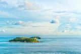 Green island in the blue sea, Thailand - 196219075