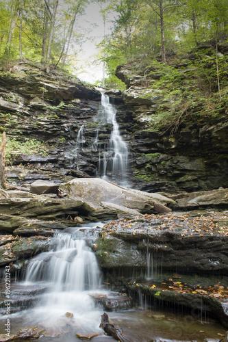 Waterfall at Ricketts Glen, PA