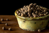 Allspice on rustic background - 196242280