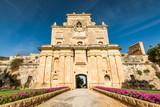 The Notre Dame Gate, Malta architecture - 196250675