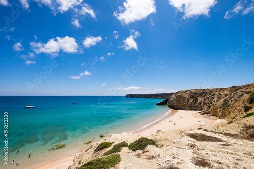 In de dag Beige Beaches of Sagres in Algarve, Portugal