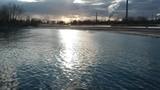 Sunset on Lake Ontario - 196273489