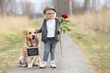 eine Rose zum Muttertag - 196293057