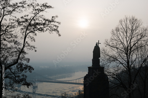 Foto op Plexiglas Kiev Monument to Vladimir in the city of Kiev. Ukraine