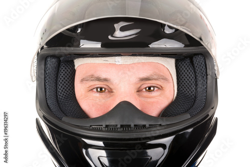 Poster F1 Racing driver with helmet