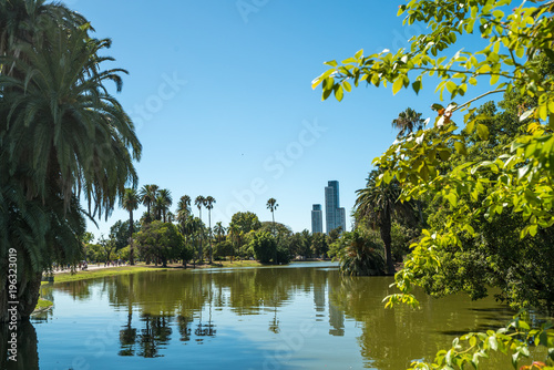 Palermo park in Buenos Aires, Argentina