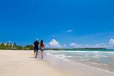 romantic couple at beach - 196325220