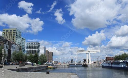 In de dag Antwerpen Strukturwandel im Hafengebiet von Antwerpen (´t Eilandje)