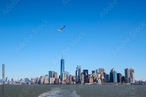 Foto op Aluminium New York Manhattan financial district