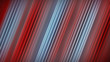 Diagonal red lines abstract 3D rendering