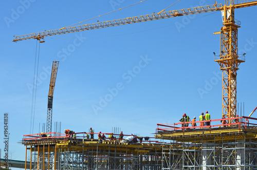 building under construction - 196341838