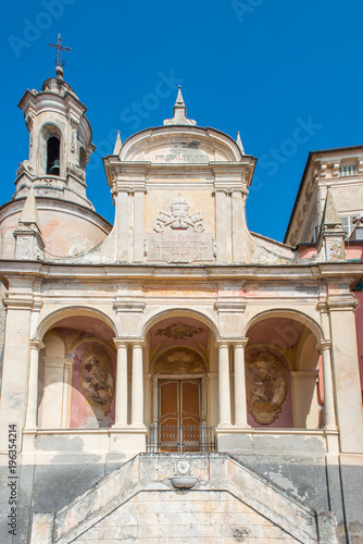 Foto op Plexiglas Liguria Saint Peter's oratory