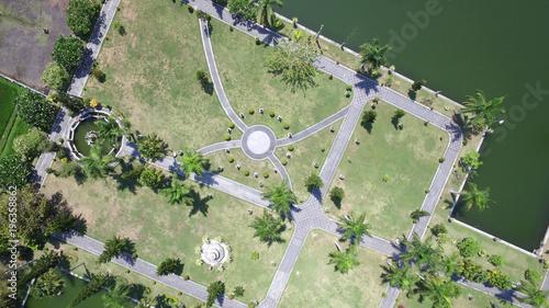 Foto op Canvas Olijf Soekasada Garden on bali Island