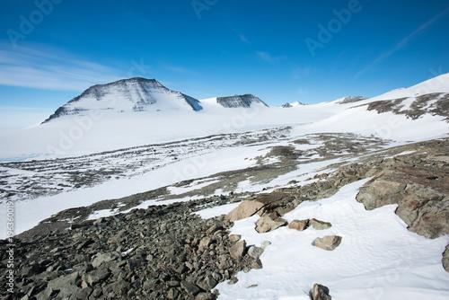 Papiers peints Antarctique Mt Vinson, Sentinel Range, Ellsworth Mountains, Antarctica