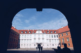 View of the Royal Castle in the Old town - Warsaw - Poland