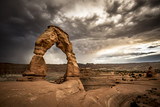 Delicate Arch before the storm - Moab - Utah - America - 196372829