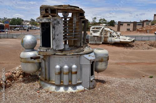 Fotobehang UFO Australia, Coober Pedy, UFO