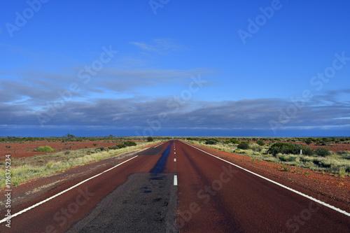 Foto op Canvas Diepbruine Australia, South Australia, Highway