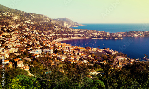Foto op Canvas Nice Panoramic view of Nica in France