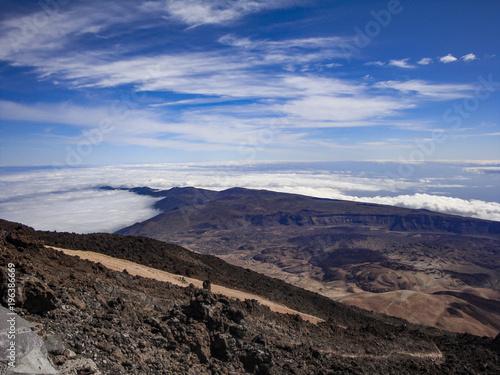 Foto op Canvas Cappuccino Teneriffa - Pico del Teide und Nationalpark Teide