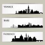 Italian cities skylines  - 196396289
